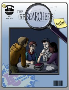 Cover of The Researchers Begins! comic