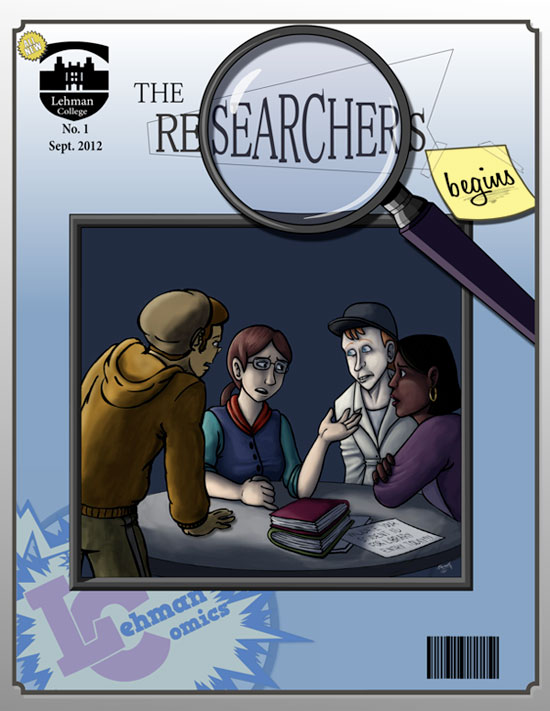 The Researchers Begins! comic cover
